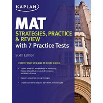 MAT Strategies, Practice & Review by Kaplan Test Prep, 9781506231648
