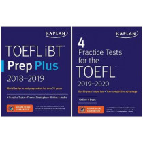 TOEFL Prep Set: 2 Books + Online by Kaplan Test Prep, 9781506245119