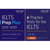 IELTS Prep Set: 2 Books + Online by Kaplan Test Prep, 9781506245126