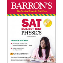 SAT Subject Test Physics with Online Test by Robert Jansen, 9781506251127