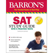 SAT Study Guide with 5 Practice Tests by Sharon Weiner Green, 9781506258027