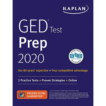 GED Test Prep 2020: 2 Practice Tests + Proven Strategies + Online by Caren Van Slyke, 9781506258652