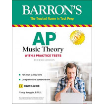 AP Music Theory: With 2 Practice Tests by Nancy Scoggin, 9781506264097