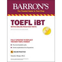 TOEFL IBT: With 8 Online Practice Tests by Pamela Sharpe, 9781506266077
