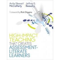 Teaching Strategies That Create Assessment-Literate Learners by Anita Stewart McCafferty, 9781506382098