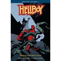 Hellboy Omnibus Volume 1: Seed Of Destruction by John Byrne, 9781506706665