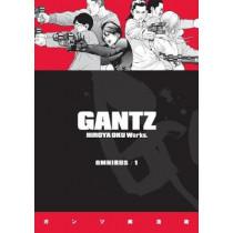 Gantz Omnibus Volume 1 by Hiroya Oku, 9781506707747