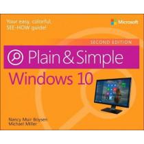Windows 10 Plain & Simple by Nancy Muir Boysen, 9781509306732