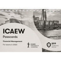 ICAEW Financial Management: Passcards by BPP Learning Media, 9781509781287
