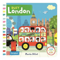 Busy London by Marion Billet, 9781509851447
