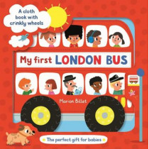 My First London Bus Cloth Book by Marion Billet, 9781509881932