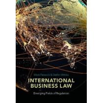 International Business Law: Emerging Fields of Regulation by Mark Fenwick, 9781509918058