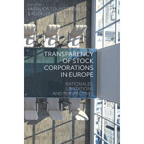 Transparency of Stock Corporations in Europe by Professor Vassilios Tountopoulos, 9781509925520