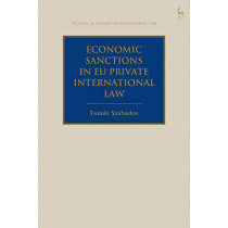 Economic Sanctions in EU Private International Law by Tamas Szabados, 9781509933518