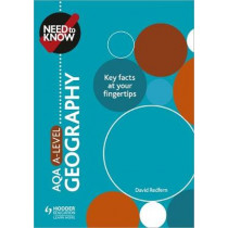 Need to Know: AQA A-level Geography by David Redfern, 9781510428485