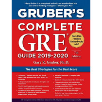 Gruber's Complete GRE Guide 2019-2020 by Gary Gruber, 9781510754225