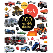 Eyelike Stickers: Trucks by Workman Publishing, 9781523506255