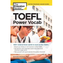 TOEFL Power Vocab by Princeton Review, 9781524710705