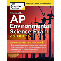 Cracking the AP Environmental Science Exam: 2019 Edition by Princeton Review, 9781524758059