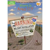 Where Is Area 51? by Paula K. Manzanero, 9781524786410
