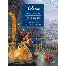 Disney Dreams Collection Thomas Kinkade Studios Disney Princess Coloring Book by Thomas Kinkade, 9781524865559