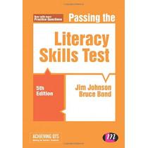 Passing the Literacy Skills Test by Jim Johnson, 9781526440181