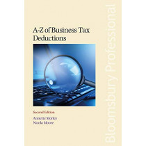 A-Z of Business Tax Deductions by Annette Morley, 9781526507310