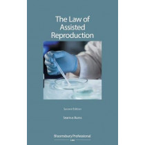 The Law of Assisted Reproduction by Seamus Burns, 9781526508195