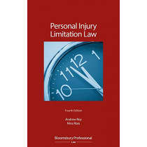 Personal Injury Limitation Law by Mr Andrew Roy, 9781526508607