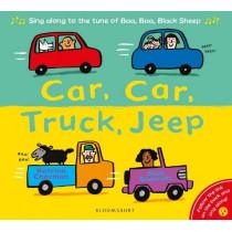 Car, Car, Truck, Jeep by Katrina Charman, 9781526610157
