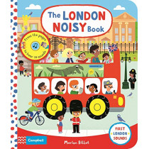 The London Noisy Book: A Press-the-page Sound Book by Marion Billet, 9781529009552