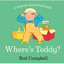 Where's Teddy? by Rod Campbell, 9781529012019