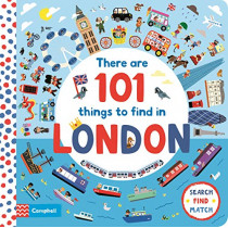 There Are 101 Things to Find in London by Marion Billet, 9781529023299