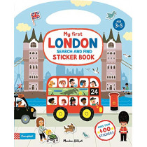My First London Search and Find Sticker Book by Marion Billet, 9781529025446