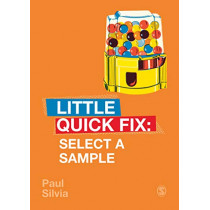 Select a Sample: Little Quick Fix by Paul Silvia, 9781529708998