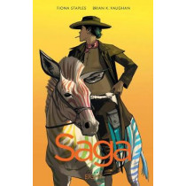 Saga Volume 8 by Brian K. Vaughan, 9781534303492