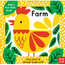 Baby's First Cloth Book: Farm by Nosy Crow, 9781536201772