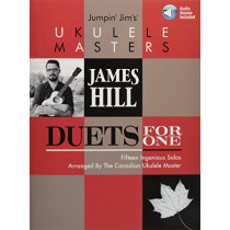James Hill: Jumpin' Jim's Ukulele Masters - Duets For One by Jim Beloff, 9781540003041