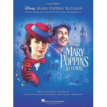 Mary Poppins Returns: Music From The Motion Picture Soundtrack (PVG) by Disney Licensed Publishing, 9781540044679