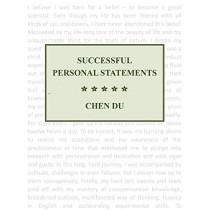 Successful Personal Statements by Chen Du, 9781543933154