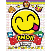 Emoji Coloring Book: Fun Emoji and Animal Designs, Collages and Funny by Alex Summer, 9781544252339