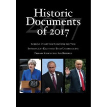 Historic Documents of 2017 by Heather Kerrigan, 9781544300702