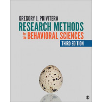 Research Methods for the Behavioral Sciences by Gregory J. Privitera, 9781544309811