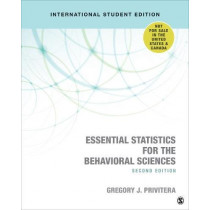 Essential Statistics for the Behavioral Sciences by Gregory J. Privitera, 9781544328010