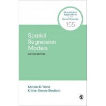 Spatial Regression Models by Michael D. Ward, 9781544328836