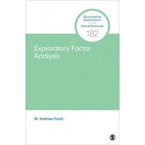 Exploratory Factor Analysis by W. Holmes Finch, 9781544339887