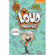The Loud House 3-In-1 #2: After Dark, Loud and Proud, and Family Tree by The Loud House Creative Team, 9781545803349