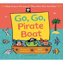 Go, Go, Pirate Boat by Katrina Charman, 9781547603190