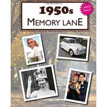1950s Memory Lane: Large Print Book for Dementia Patients by Hugh Morrison, 9781548412913
