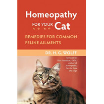 Homeopathy For Cat by H.G. Wolff, 9781556437397